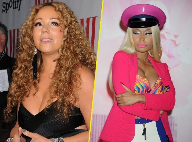 """Mariah Carey : """"Nicki a dit qu'elle voulait me tirer dessus !"""""""