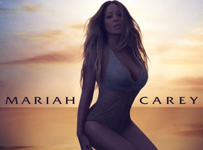 "Mariah Carey : sensuelle et sexy en diable sur la pochette de son nouveau single ""The Art of Letting Go"" !"