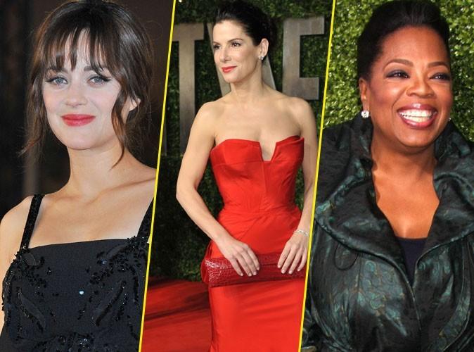 Marion Cotillard, Sandra Bullock, Oprah Winfrey ... toutes ces femmes qui gagnent plus que les hommes !