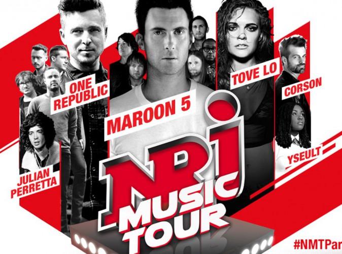 Maroon 5, One Republic et Tove Lo sur la scène du NRJ Music Tour Paris !