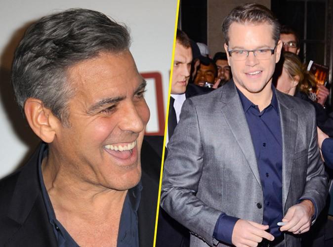 Matt Damon : il réagit au mariage de son ami George Clooney !