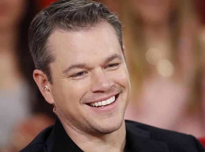 """Matt Damon : """"Je tiens à ma réputation de gendre idéal"""" !"""