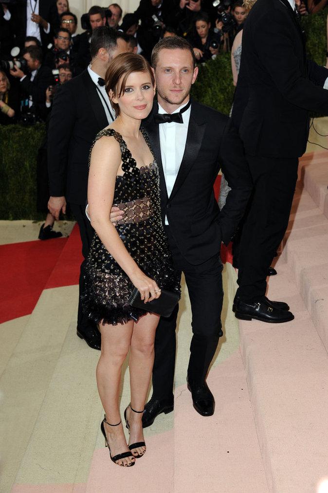 Met Gala 2016 : Kate Mara et Jamie Bell au Metropolitan Museum of Art à New York