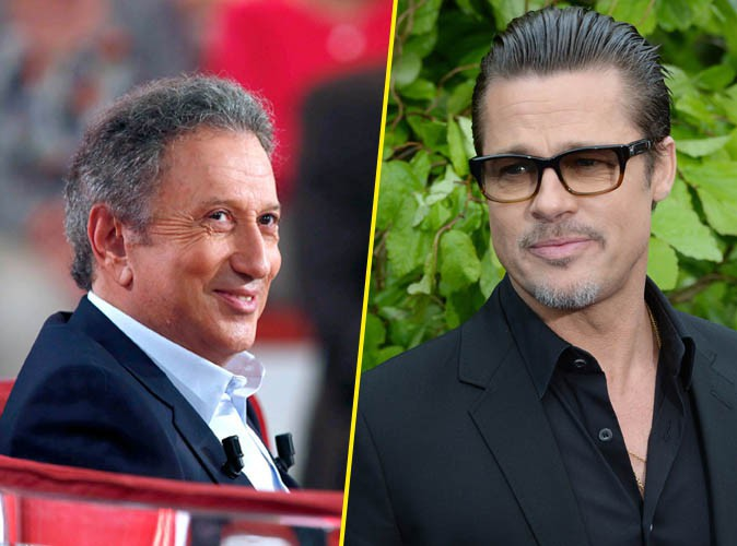 """Michel Drucker raconte sa rencontre avec Brad Pitt : """"On a tout de suite sympathisé"""" !"""