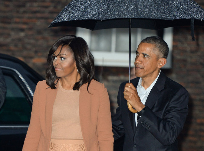 Michelle et barack obama quittent la maison blanche pour for Barack obama a la maison blanche
