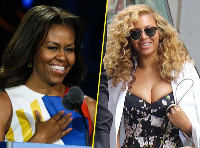 """Michelle Obama : """"J'aurais voulu être Beyoncé"""" !"""