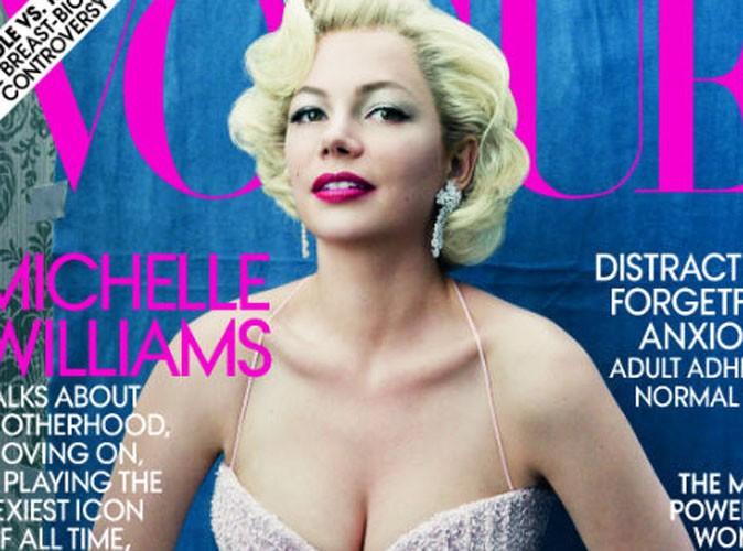 Michelle Williams : des prothèses pour se mettre dans la peau de Marilyn Monroe !