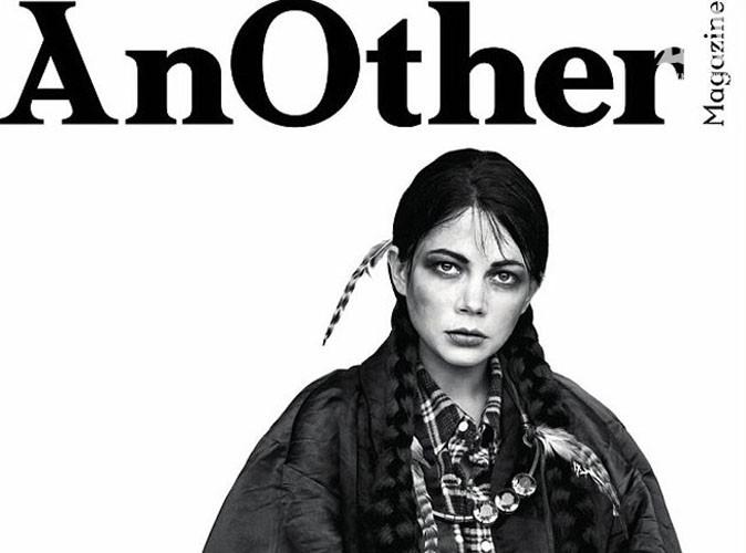 Michelle Williams : elle crée la polémique, déguisée en Amérindienne en couverture d'un magazine !