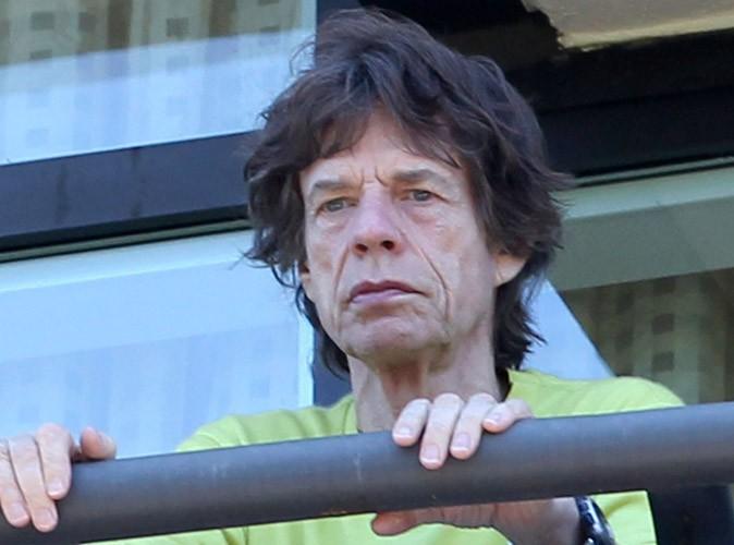 Mick Jagger : dévasté et le visage déconfit sur la première photo prise suite à l'annonce de la mort de L'Wren Scott...
