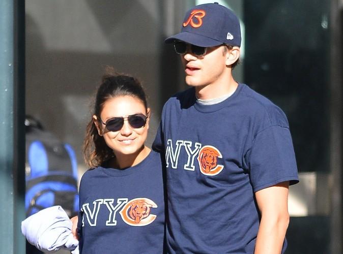 Mila Kunis et Ashton Kutcher : les inséparables amoureux de nouveau de sortie à New York !