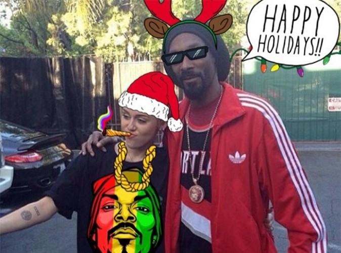 Miley Cyrus : désormais, elle traine avec Snoop Dogg !
