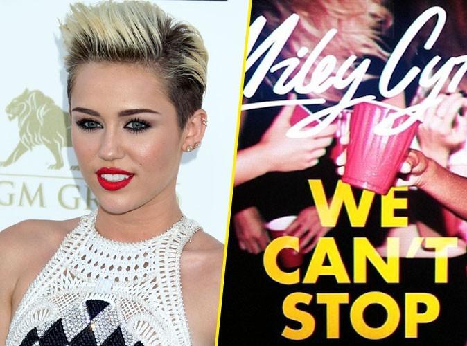 """Miley Cyrus : écoutez son nouveau single """"We Can't Stop"""" !"""
