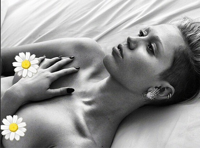 Miley Cyrus : elle chantera pour nos tétons !