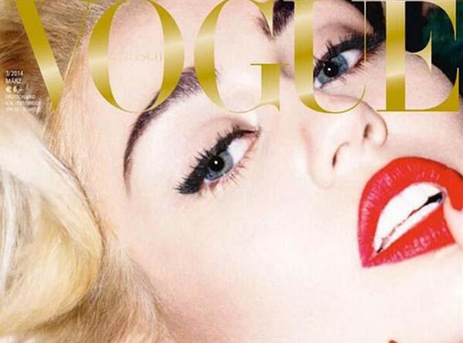 Miley Cyrus : elle dévoile encore ses seins... Cette fois-ci pour le Vogue allemand !