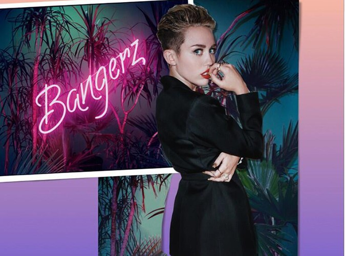Miley Cyrus : la star dévoile la pochette de son album Bangerz et sort un titre inédit... Découvrez-le !