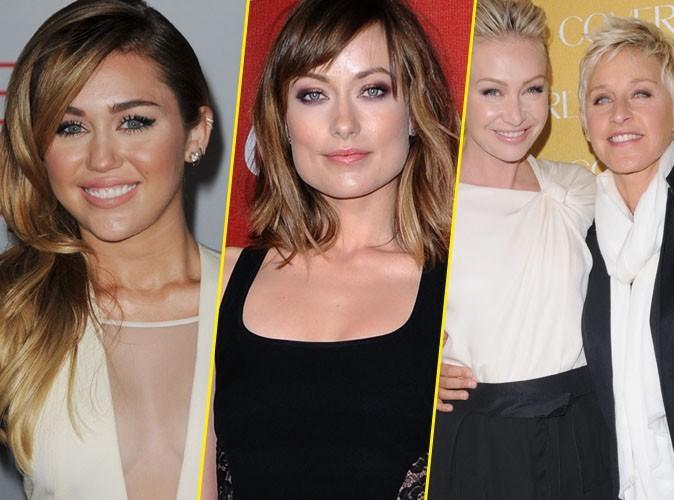 Miley Cyrus, Olivia Wilde, Ellen DeGeneres : et une victoire de plus en faveur du mariage gay !