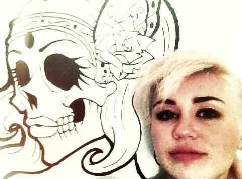Miley Cyrus : une photo un brin angoissante !