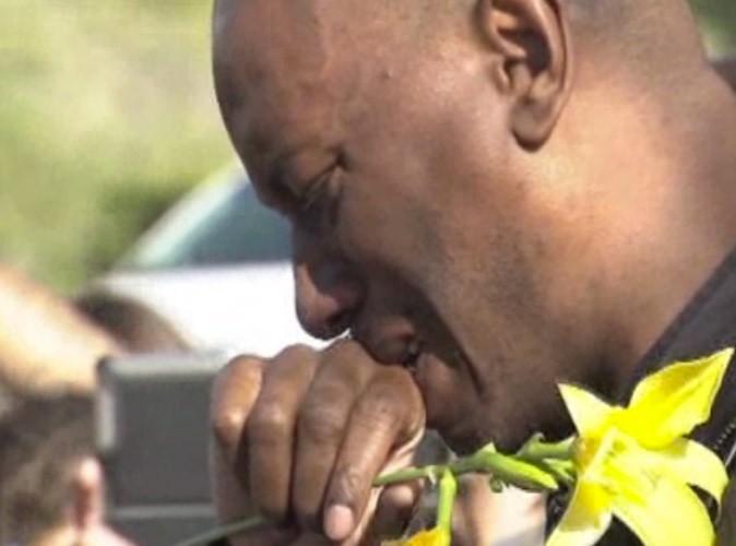 Mort de Paul Walker : Tyrese Gibson fond en larmes sur les lieux de l'accident…