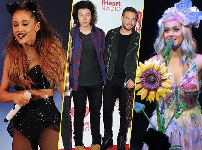 MTV EMA 2014 : Ariana Grande, One Direction et Katy Perry ont triomphé... découvrez le palmarès complet !