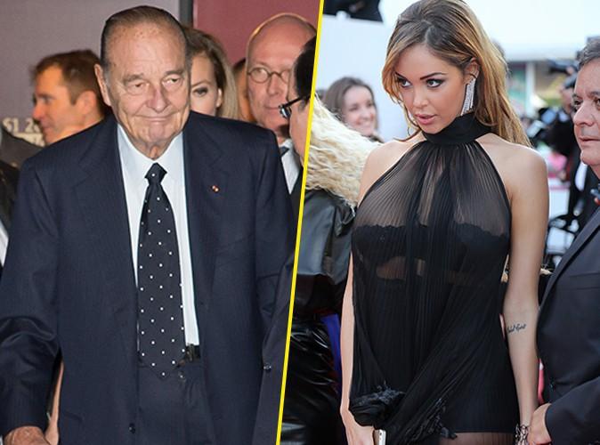 """Nabilla déclare sa flamme à Jacques Chirac : """"Désolée pour votre meuf, mais vous, je vous kiffe !"""""""
