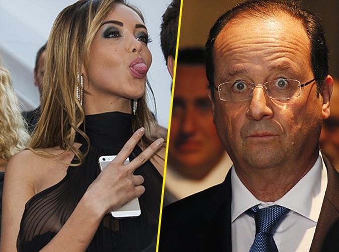 Nabilla : la bimbo s'adresse à François Hollande et le nargue !