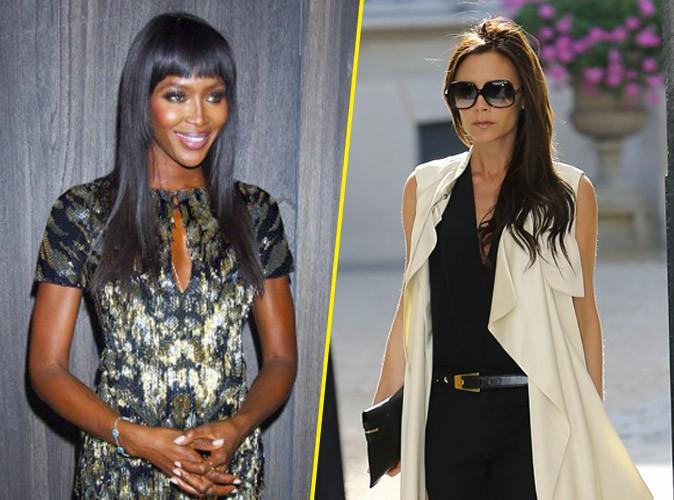 Naomi Campbell : mécontente, elle rappelle Victoria Beckham à l'ordre !
