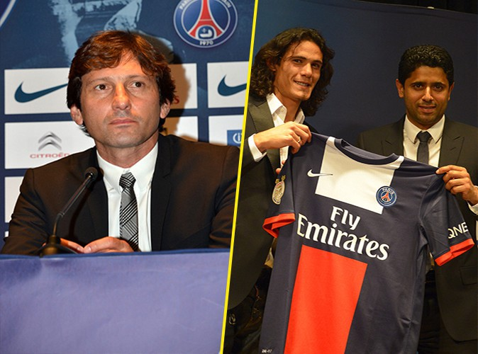 Nasser Al-Khelaïfi : le président du PSG annonce le depart de Leonardo et présente son nouveau joueur, Edinson Cavani !