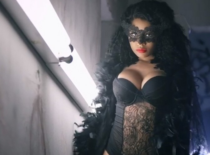 Nicki Minaj : bombesque pour le clip d'Only avec Drake, Lil Wayne et Chris Brown !