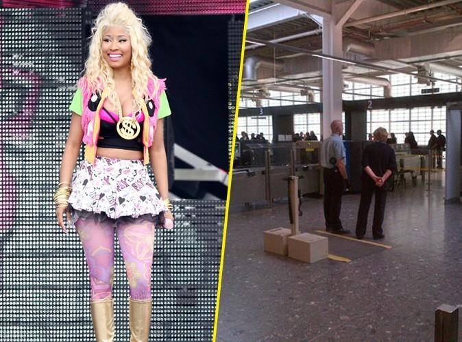 Nicki Minaj : elle accuse un agent de sécurité de l'avoir caressée !