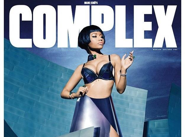 Nicki Minaj : métamorphosée en bombe futuriste pour la couverture de Complex Magazine !