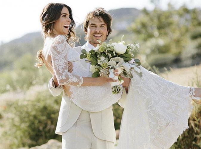 Nikki Reed et Ian Somerhalder : les photos officielles de leur mariage féerique dévoilées !