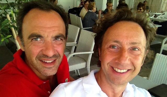 Nikos Aliagas et Stéphane Bern : ils se sont retrouvés en Grèce !