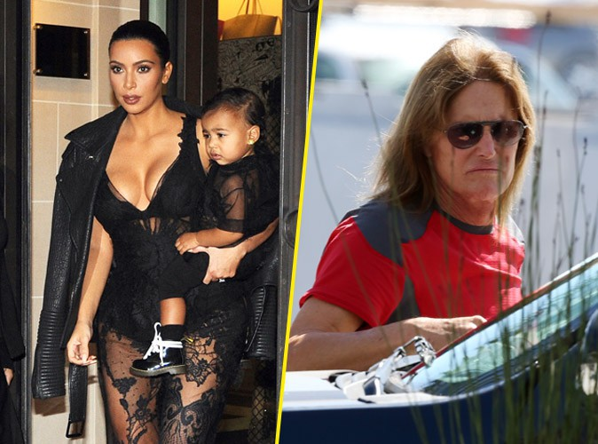 "North West : elle appelle Bruce Jenner ""maman"" !"
