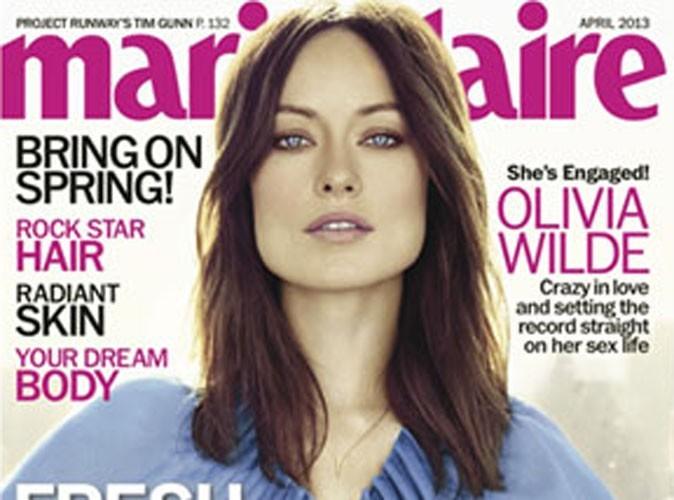 Olivia Wilde : divorce, coup de foudre, enfants...la bombe se livre en couverture de Marie-Claire !