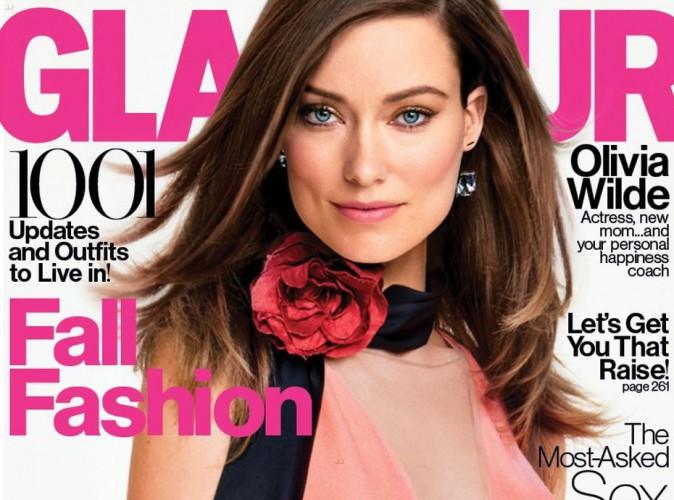 Olivia Wilde : photographi�e pour le magazine Glamour en train d'allaiter son fils Otis  !