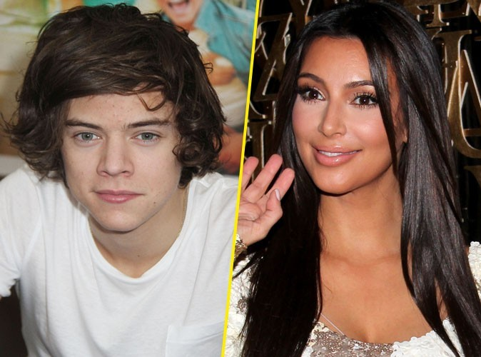 One Direction : Harry Styles : il craque pour Kim Kardashian !