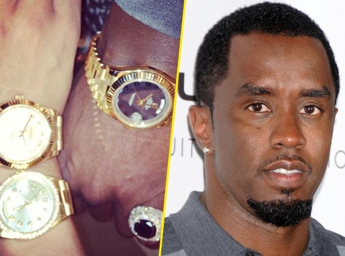 P. Diddy affiche sa richesse avec toutes ses Rolex !