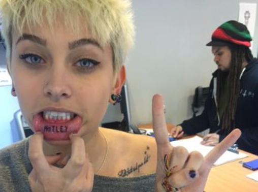 Paris Jackson : le tatouage de l'extrême !
