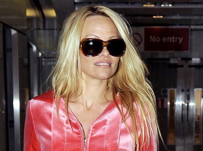 Pamela Anderson : la bimbo adopte un chien errant !