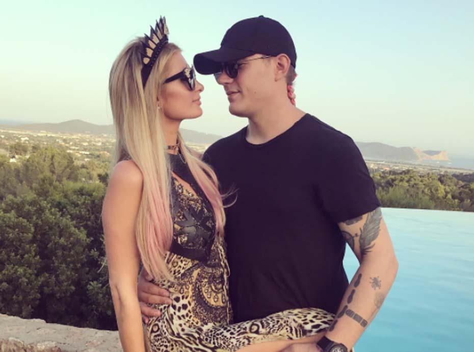 Paris Hilton : découvrez la magnifique preuve d'amour de son petit-ami