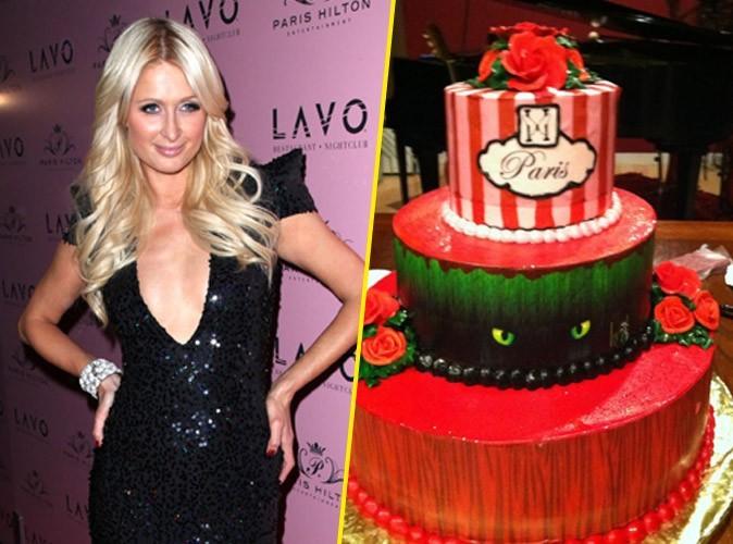 Paris Hilton : son gateau d'anniversaire volé offert à des SDF !