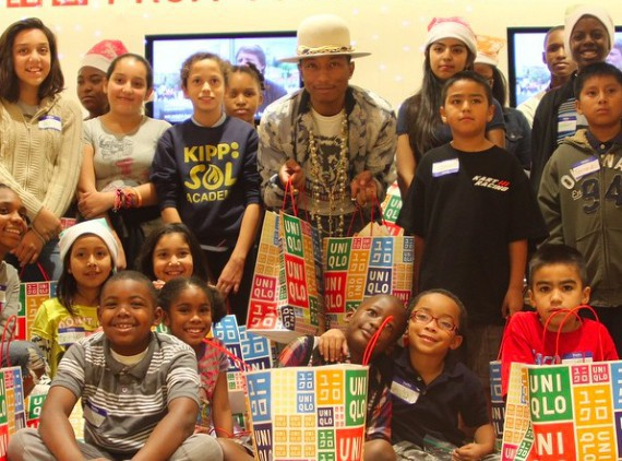 Pharrell Williams : un artiste engagé pour la cause des enfants !