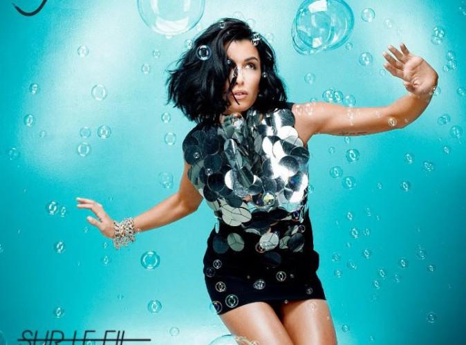 Photo : Jenifer dévoile la nouvelle pochette de son single Sur Le Fil !
