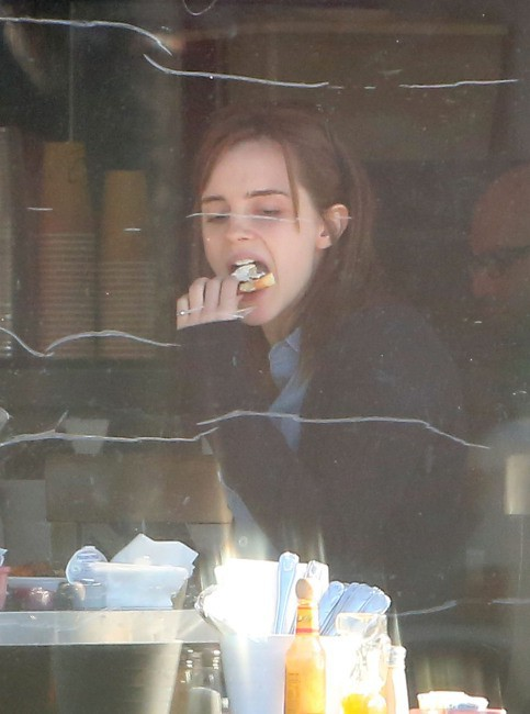 Emma Watson à Los Angeles, le 28 novembre 2013