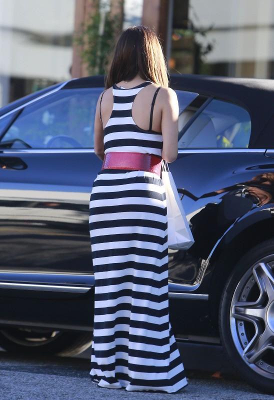 Eva Longoria à Beverly Hills, le 25 août 2013