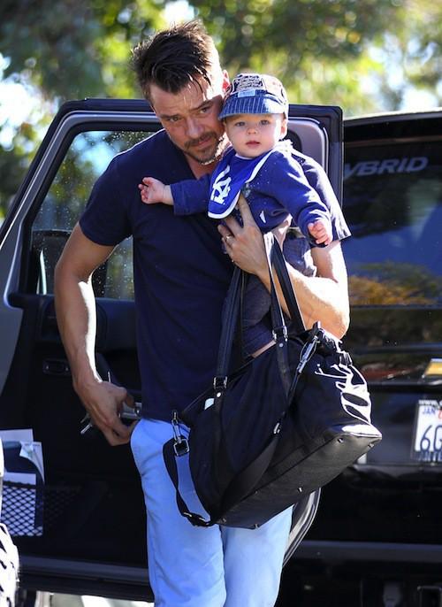 Photos : Josh Duhamel : nouvelle sortie en tête à tête avec Axl et sans Fergie !