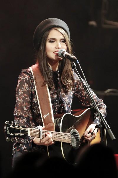Joyce Jonathan a son concert privé, Paris, le 28 novembre 2013