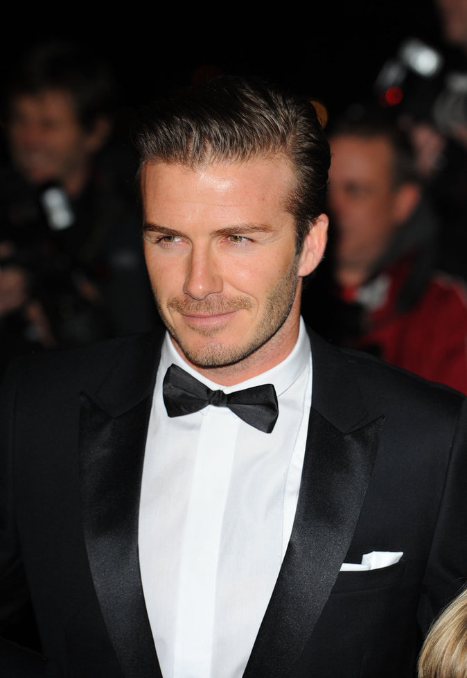 "DAVID BECKHAM À LA SOIRÉE DES ""THE SUN MILITARY AWARDS"""