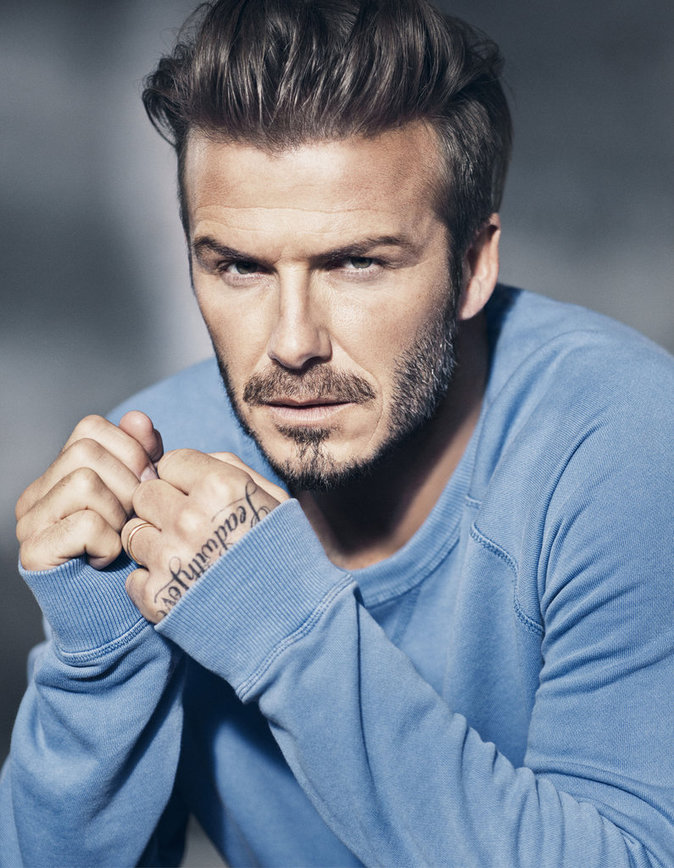 David Beck­ham pose en sous-vêtements pour la nouvelle campagne Bodywear by David Beckham H&M