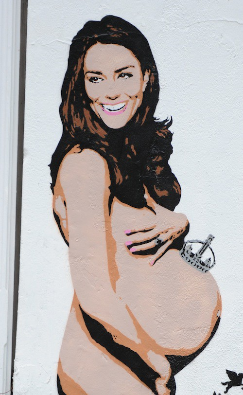 Photos : Kate Middleton : franchement enceinte et nue dans Londres !